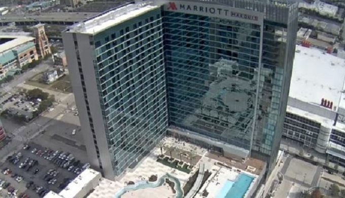 Houston's New Marriott Features Texas-Shaped What?