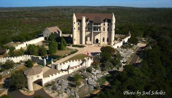 Falkenstein Castle, Burnett Texas, Texas Hill Country, Bavaria