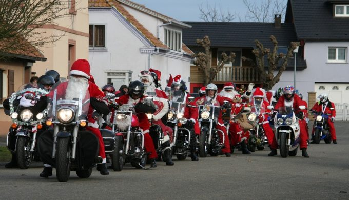 Austin Motorcyclists Toy Run for Helping Hand Home Great Success
