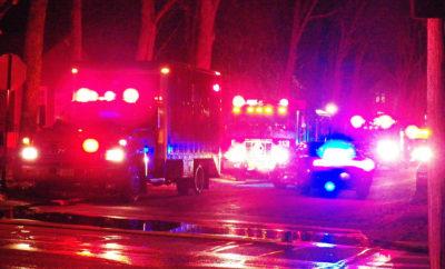 Fire Scene ambushed