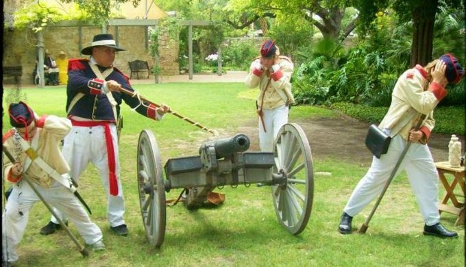 firing cannon