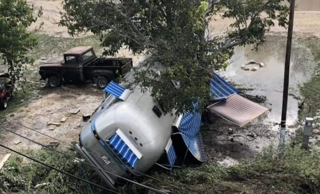 Llano River Flooding Carries Away an RV Park: Campers Missing