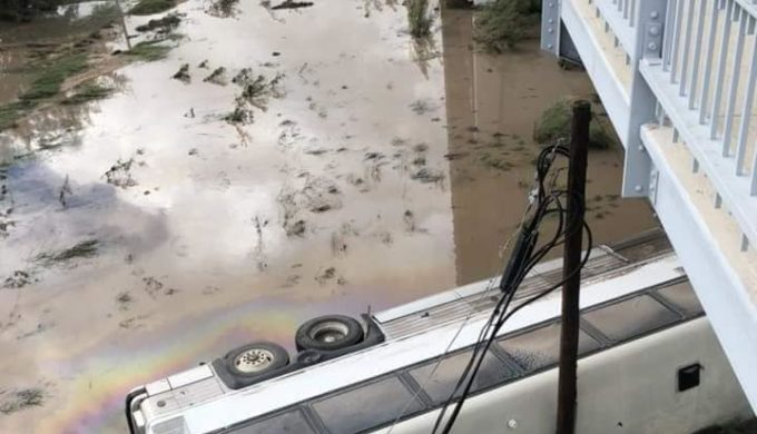 Llano River Flooding Carries Away An Rv Park Campers Missing
