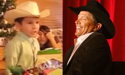 "Watch This Adorable Little Cowboy sing ""Amarillo By Morning"""