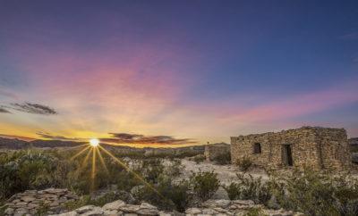Ruins in Terlingua, Texas