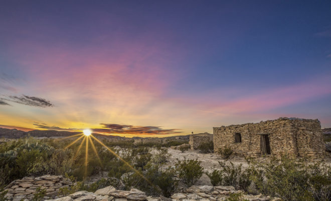 Ruins in Terlingua, Texas