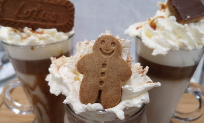 Gingerbread Hot Chocolate is Everything on a Cool Texas Night