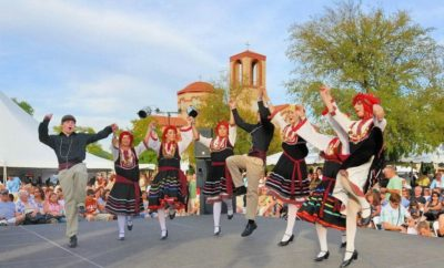 OPA! at the 63rd Annual Greek Food Festival of Dallas