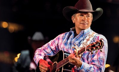 George Strait & His Grandson Sing on New Song 'God and Country Music'