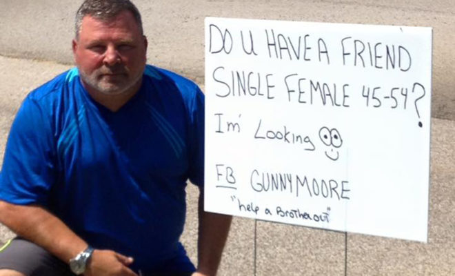 man looking for female friend