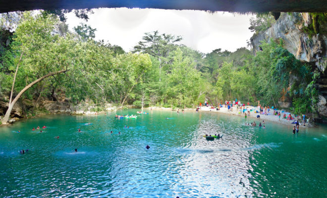a quick guide to cooling off at hamilton pool. Black Bedroom Furniture Sets. Home Design Ideas