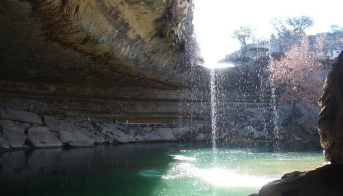 hamilton pool, dripping springs, texas hill country, nature preserve