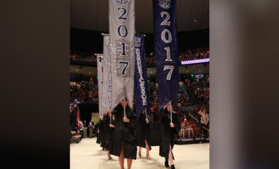 high school graduating