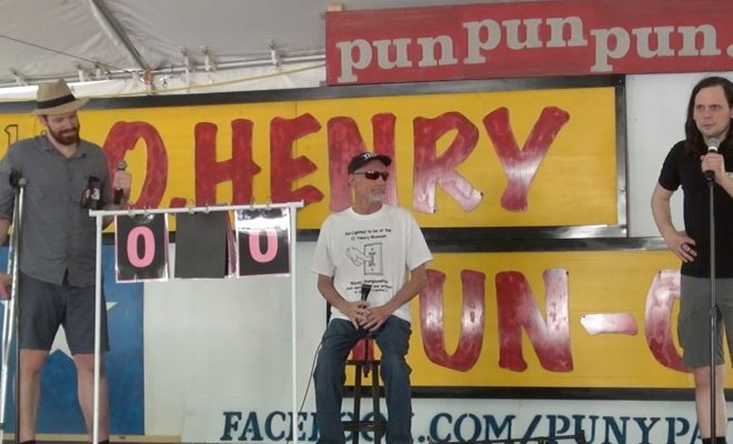 O. Henry Museum Pun-Off: World Championships Punslingers Competition