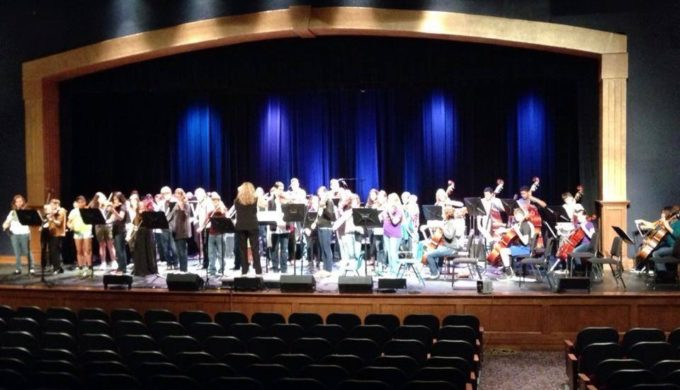 Hill Country Youth Orchestra X on Texas Three Step Dance