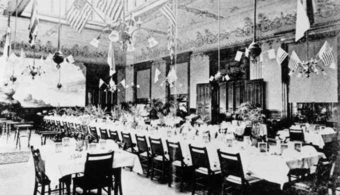 The Driskill Hotel's historic ballroom. Photo Courtesy of the Driskill Hotel