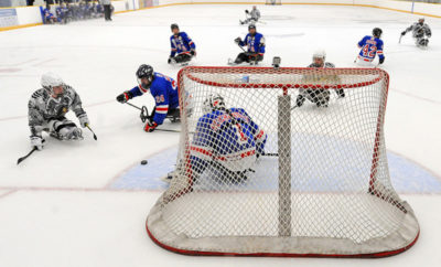 Paralympic sled hockey