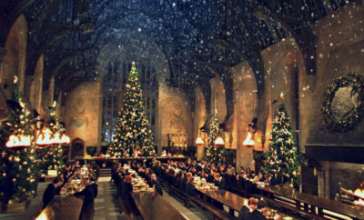 Hogwarts at Christmas Harry Potter