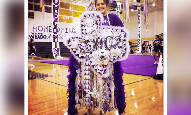Texas Teen Spends 600 On A Massive Homecoming Mum