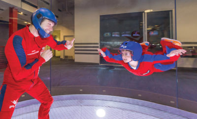 iFly Indoor Skydiving: Fly Like an Eagle No Parachute Required