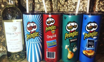 Attention Walmart Shoppers: Pringles Wine Tumblers Exist