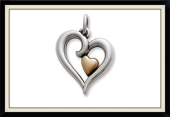 "James Avery ""Joy of My Heart"" collection pendant"