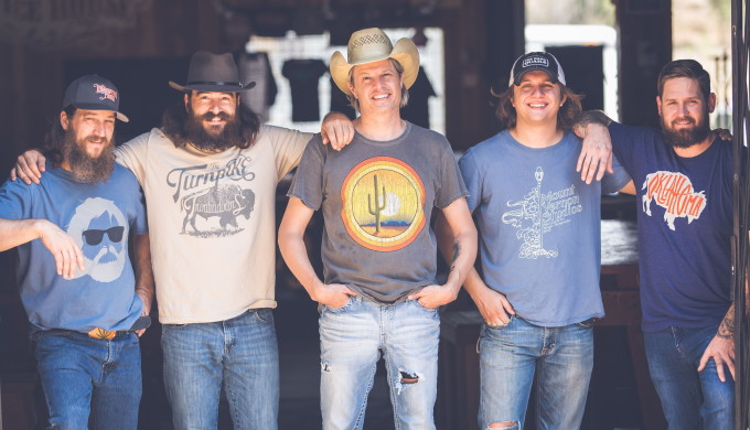 Group picture of Texas Country band Jason Boland and The Stragglers