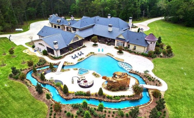 Recently Listed Crosby Ranch Features Gorgeous Pool & Private Lazy River