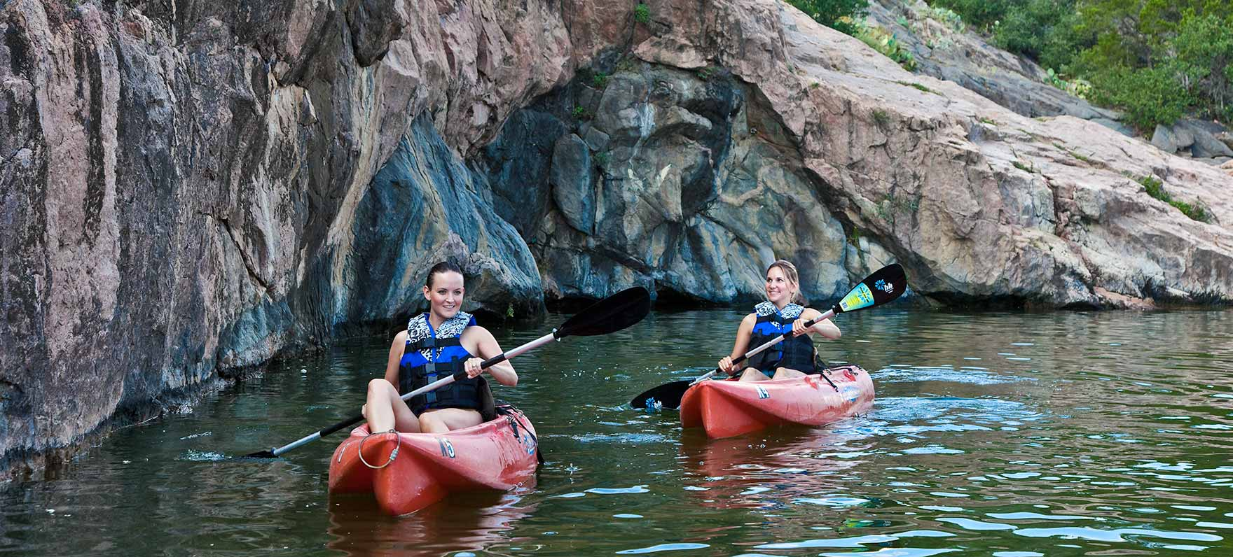 Dive in: 5 Ways to Play at Inks Lake State Park