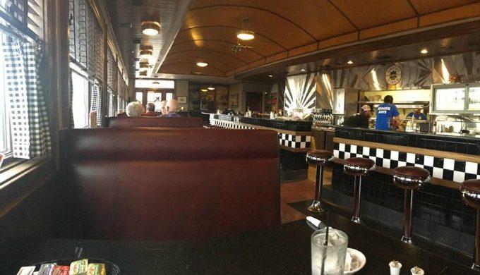 inside AIrport Diner