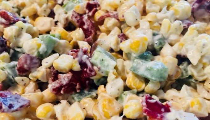 Jalapeno Popper Corn Salad is So Good, You'll Want Seconds