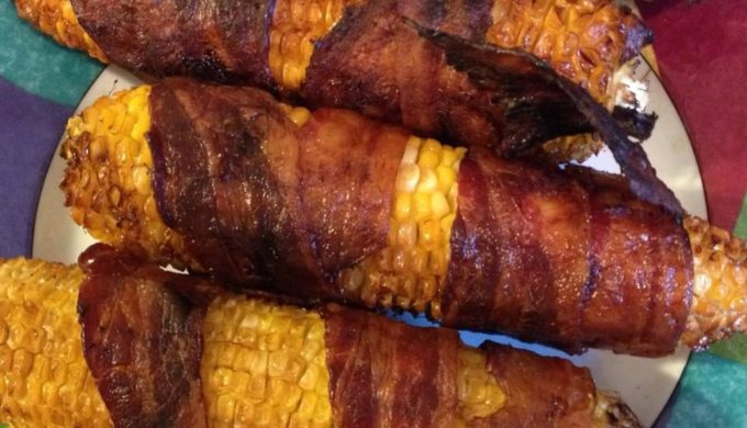 Where There's a Grill There's a Way: Bacon-Wrapped Corn on the Cob