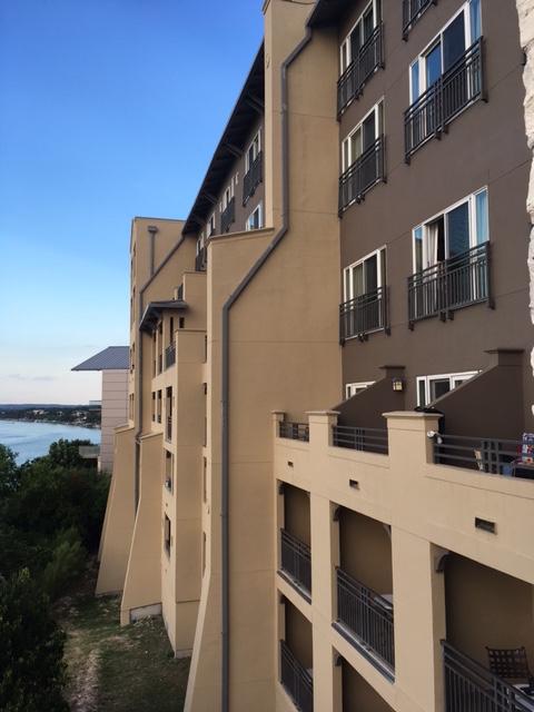 Lakeway balcony view