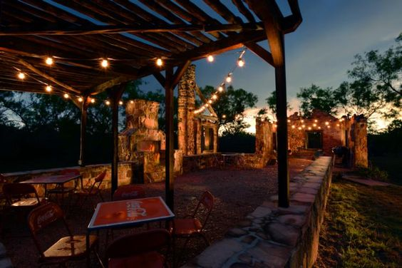 Sit A Spell In Castell Texas That Is