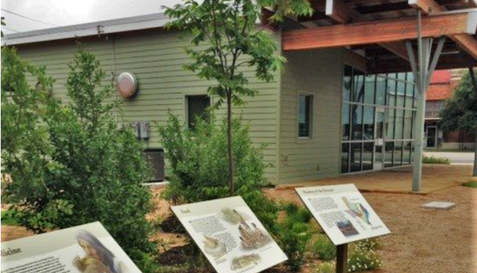 Legacy Plaza, Goldthwaite, Hill Country, Native American, History