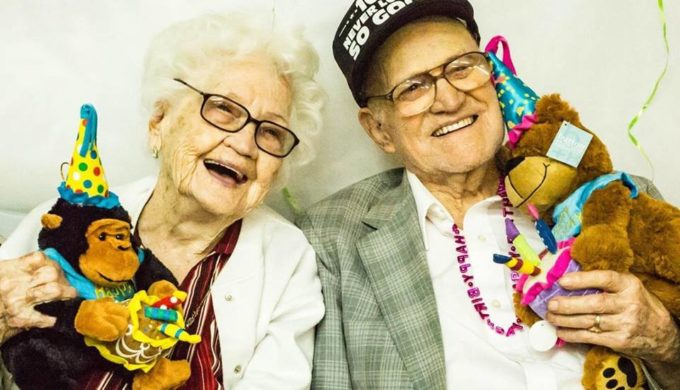 The Longest Married Couple in Texas Celebrates 82 Years Together