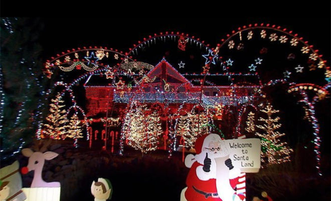 Waco Tx Great Christmas Light Fight 2020 Waco Family Wins 'Great Christmas Light Fight' Contest on ABC