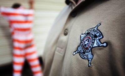 Montgomery County Sheriff's Dept logo on shirt ambushed