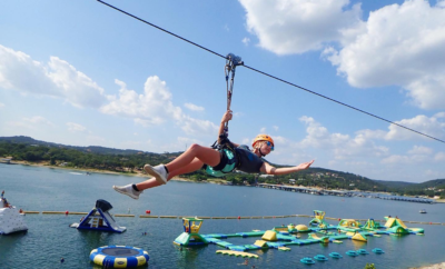 Fly Over a Hill Country Lake on This Zipline Adventure