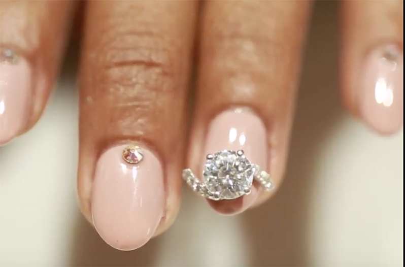 This Luxury Nail Salon Offers a $60,000 Manicure Complete With Diamonds