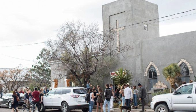 This Old Texas Church is Now Home to the Wrong Store, and It's All Right