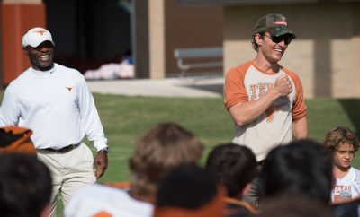 McConaughey Named 'Minister of Culture' for Longhorns' Basketball Arena