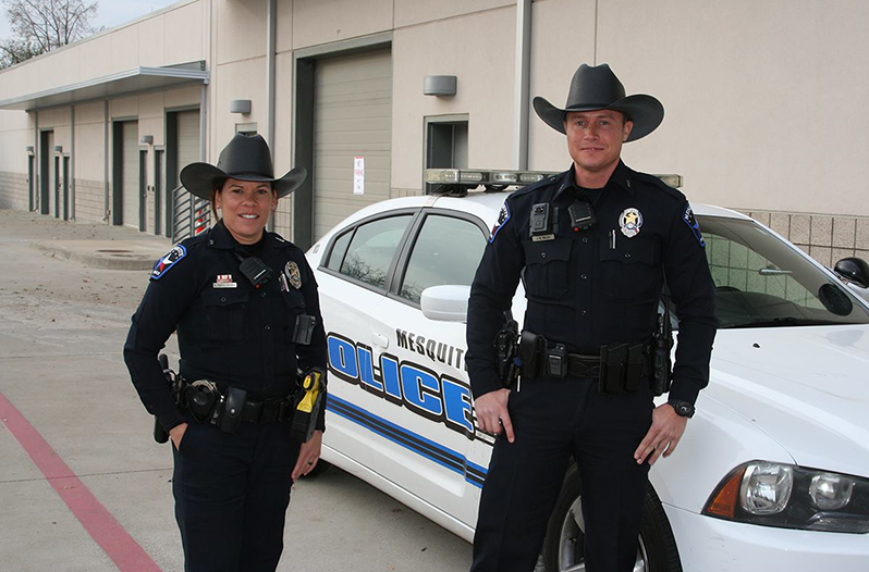 Mesquite Police Department Adds A Cowboy Hat To Their Uniform