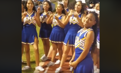 Crowd Gives a Deaf Cheerleader a Sweet Surprise for Her Birthday