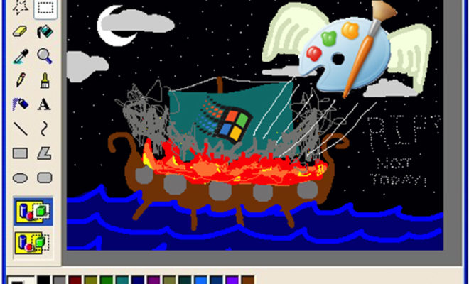 microsoft decides to keep ms paint application around after