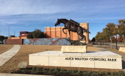 Alice Walton Cowgirl Park Opens at National Cowgirl Museum