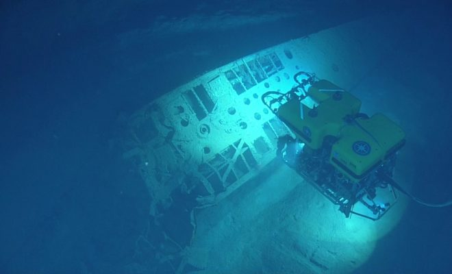Watch: Tour a Sunken German U-Boat in the Gulf of Mexico