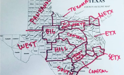 How Well Do You Know the Regions of Texas? Is This New Map Accurate?