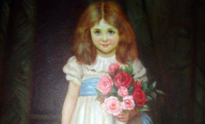 Is this Painting in the Driskill Hotel Haunted by a Little Girl's Ghost?