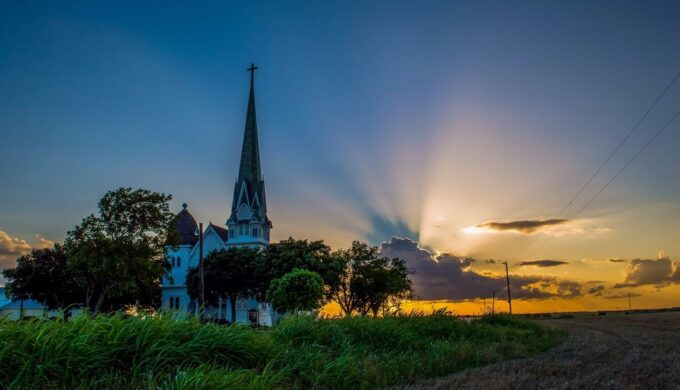 See the Most Photographed Church in the Lone Star State